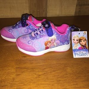 Girls Disney Frozen shoes Size 7 Brand New